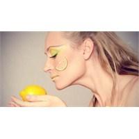 Limonla Güzelleşmek