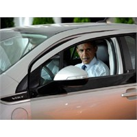 Obama'nın Test Ettiği Chevrolet Volt Yandı