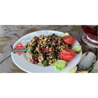 Kolay Buğday Salatası Tarifi