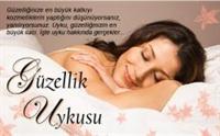 Güzellik Uykusu Önemlidir