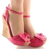 Yazlik Ayakkabi Modelleri (Dolgu Topuk)