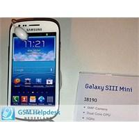 Samsung Galaxy S3 Mini'nin Pil Performansı Nasıl?