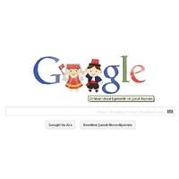 Doodle: Google 23 Nisan'ı Kutladı