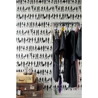 Modern Siyah Beyaz Duvar Kağıtları