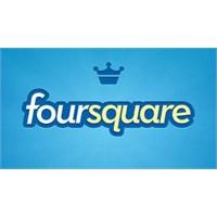 Foursquare'de Tam Sayfa Reklam