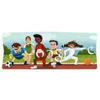 Google Londra 2012 Açılış Doodlesi