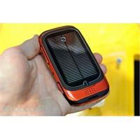 Güneş Enerjisi İle Çalışan Cep Telefonu