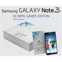 Yeni Samsung Galaxy Note 3 Olimpiyat Modeli