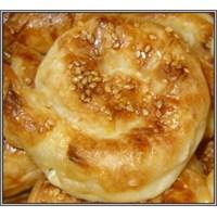 Lezzetli Patatesli Gül Böreği