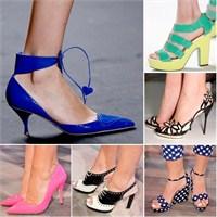 2013 İlkbahar/ Yaz Ayakkabı Modelleri
