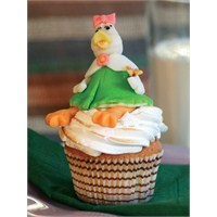 Ördekli Cupcake