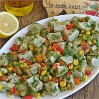 Enginar Salatası (Resimli Anlatım)