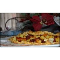 Patatesli Sucuklu Omlet