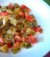 Trakya Usulü Patlıcan Salatası