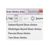Windows 7 Ekran Görüntüsü Almak