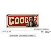 Google Harry Houdini'ni Ana Sayfasına Taşıdı