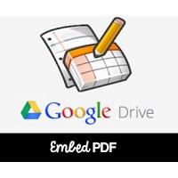 Blogger Yayın İçinde Pdf Dosyası Göstermek