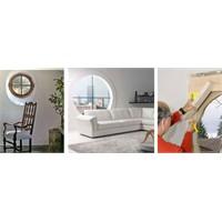 Dekoratif Yuvarlak Pencere Modelleri