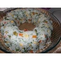 Çok Lezzetli Bir Pirinç Salatası