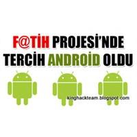 Fatih Projesi İşletim Sistemi Android Oldu!