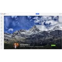 Google+'a Büyük Kapak Fotoğrafı Yeniliği Geldi!..