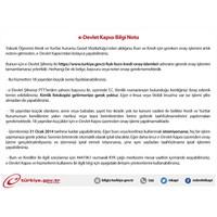 Kyk E-devlet Kredi Burs Onaylama İşlemi Yapma