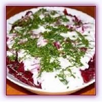 Yoğurtlu Mor Lahana Salatası Kolay Tarif