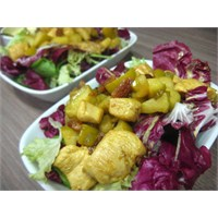 Elmalı&kuru Üzümlü Tavuk Salatası