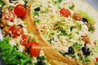 Ekmek Çanağında Lor Salatası