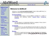 Abiword 2.8.0 - Kelime İşlemci Programı