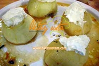 Oktay Usta dan Kaymaklı Elma Tatlısı