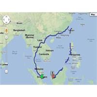 Google Maps İle Asya'da 8000 Km