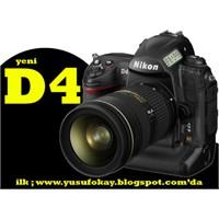 Yeni Nikon D4 Ve İnceleme