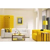 Sarı Dekorasyon Örnekleri