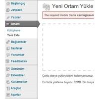 Wordpress Bloğuna Pdf, Rar,zip Uzantılı Dosya Ekle