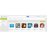 Google Play Yenilendi...