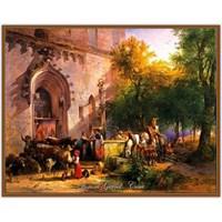 Avusturyalı Manzara Ressamı: Friedrich Gauermann