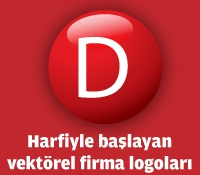 D Harfiyle Başlayan Vektörel Logolar