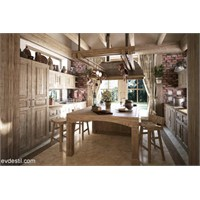 Klasik Mutfak Dekorasyonu Örnekleri
