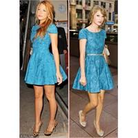 Aynı Elbise 2 Ünlü... Kime Daha Çok Yakışmış?