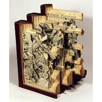 Oyma Sanatıyla Yapılmış Tasarım Harikası Kitap Res