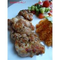 İzgara Tadında Pratik Tavuk Biftek