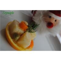 Portakallı Kereviz-zeyneple