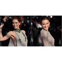 Cannes'da Saadet Işıl Aksoy Ve Cansu Dere