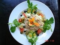 Ton Balıklı Salata [diyet Yemekler]