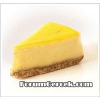 Kolay Ve Ucuz Limonlu Cheesecake