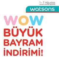 Yasasın Alısveris>>>watsons Bayram İndirimi