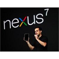 """Yeni """"Nexus 7"""" Temmuz'da Piyasada"""