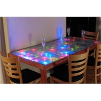 Işıklı Yemek Masası