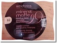 Bourjois Mineral Matte Köpük Pudra İle Cildiniz Ku
